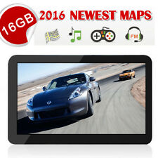 "16GB TOM 7"" CAR GPS SAT NAV NAVIGATION SYSTEM NAVIGATOR SPEEDCAM POI FREE MAP UK"