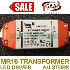 SAA LED MR16 Transformer Driver Power Supply 15W Constant Voltage NON DIMMABLE