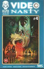 RARE!! VIDEO NASTY #4.  RECOMMENDED FOR MATURE READERS ONLY