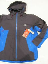 New with tag Mens The North Face Grey Blue Potosi Hooded Waterproof Jacket XXL