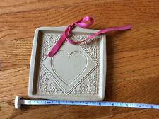 Vtg 1988 Brown Bag Cookie Shortbread candy chocolate mold heart Valentines rare