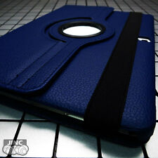NAVY BLUE Leather Book Case BookCase Cover Pouch for Apple iPad Pro/iPadPro 12.9