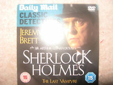 NEW SHERLOCK HOLMES THE LAST VAMPIRE DVD DAILY MAIL CLASSIC DECTECTIVES COLL