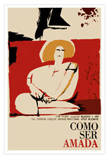 """Cuban movie Poster 4 film""""HOW to be Loved""""Polish film.World Graphic Design"""