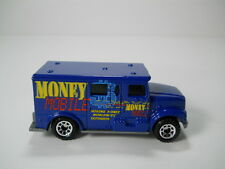 Matchbox International Armored Car Money Mobile Truck 1/64 Scale JC43