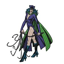 Classic Catwoman Rogue Cat Batman Character DC Comic Girl Iron-On Applique Patch