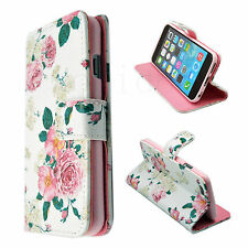 "For Apple iPhone 6 4.7"" Mobile Phone Leather Flip Card Holder Wallet Cover Case"