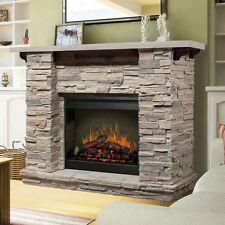 Featherston Electric Fireplace Mantel Package