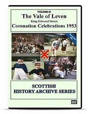 DVD The Vale of Leven Coronation Celebrations 1953 Alexandria King Edward Street