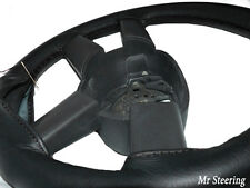 FITS 2007-2011 MERCEDES ACTROS VERSION III BLACK LEATHER STEERING WHEEL COVER