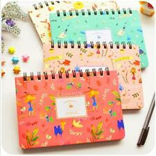 """Willow Story"" 1pc Planner Agenda Scheduler Cute Coil Weekly Journal Notebook"