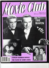 WoW! Movie Club #6 The Raven! Comedy Horror Movies! Films Of Jerry Lewis! More!