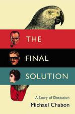 The Final Solution, Michael Chabon