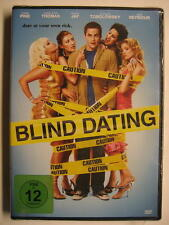 BLIND DATING - DATE AT YOUR OWN RISK - DVD - OVP - CHRIS PINE JANE SEYMOUR