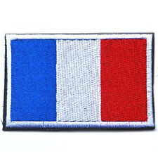 FRANCE FLAG FRENCH FLAG TACTICAL ARMY MILITARY MORALE EMBROIDERED VELCRO PATCH