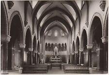 INTERNO DELLA NUOVA CHIESA DI FALCADE (BELLUNO) 1957