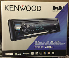 KENWOOD KDC-BT73DAB CD USB Bluetooth iPod iPhone Android DAB + Antenna-EX DEMO