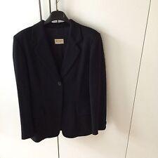 Blazer Jacke Jacket Schwarz Max&Co Max Mara Wolle Kaschmir Cashmere D 36