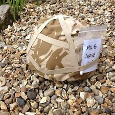 HELMET COMBAT Mk6 with NEW DESERT DP COVER SIZE LARGE
