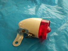 VINTAGE NOS BICYCLE PLASTIC TAIL LIGHT RINDER FOR MERCIER RALEIGH SCHWINN NEW
