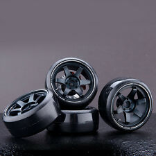 EC 4PCS Aluminum Alloy Emulational Wheel Rim Hub For 1/10 Scale RC Drift Cars