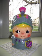 RARE Vintage Made in Japan KNIGHT Cookie Jar