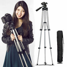 Universal Portable Aluminum Tripod Stand & Bag For Canon Nikon Camera Camcorder!