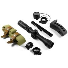 Mosin Nagant Combo Kit - 2-7x32 Scope - Scope Mount - Rings - Sling - Buttpad