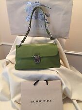 BURBERRY SIGNATURE PRORSUM SATCHEL BAG AUTHENTIC MADE IN ITALY