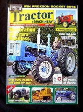 Tractor & Machinery, April 2011, Restoration of a Rare Roadless, Valtra is 60.