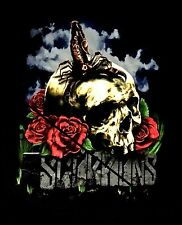 SCORPIONS cd lgo Sting in the Tail SKULL ROSES Official SHIRT LRG new