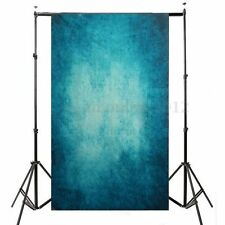 KIT FONDALE STUDIO FOTOGRAFICO SFONDO BLU SCENARIO MATTONE MURO 1.5*1m