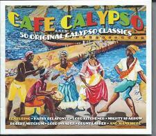Cafe Calypso - 50 Original Calypso Classics (2CD 2015) NEW/SEALED