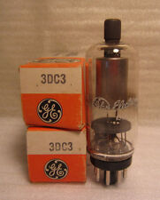 Lot Of 2 GE General Electric 3DC3 Electronic Vacuum Radio TV Tubes NOS