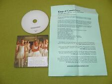 Kings Of Convenience - I'd Rather Dance With - RARE Israeli Israel Hebrew Promo