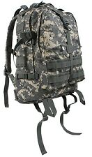Large Acu Camo Military Style Medical Transport MOLLE Assault Back pack 7237