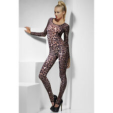 Catsuit Overall Body Panthermuster Gogo Party Freizeit Fashion Sexy S/M/L 34-40