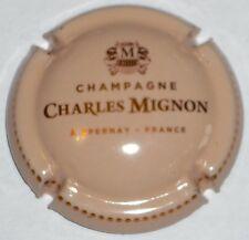 Capsule de Champagne : New !!! MIGNON Charles , crème et cuivre , non réf !!!