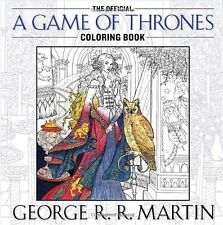 Game of Thrones Adult Colouring Book Artwork Song of Ice and Fire John Howe