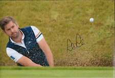 Robert Rock SIGNED Autograph Photo AFTAL COA Golf Irish Open Maynooth IRELAND