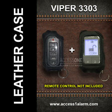 Viper 3303 ((LEATHER REMOTE CASES)) For Both Remotes!
