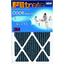 "4 Pk 3M 14"" X 25"" X 1"" Filtrete 1200 MPR Odor Reduction Furnace Filter HOME04-4"