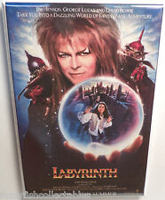 "Labyrinth Movie Poster 2"" x 3"" Refrigerator Locker MAGNET Bowie Henson Style 2"