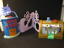 Fisher-Price Imaginext SpongeBob Krusty Crab Playset Chum Bucket Sponge Bob