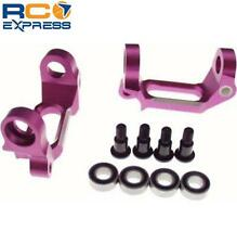 GPM Racing HPI Nitro RS4 Mt Purple Aluminum Bearing C-Hub NRS402007