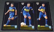 90 91 92 BOCA JUNIORS LODEIRO GAGO CALLERI PANINI FOOTBALL FIFA 365 2015