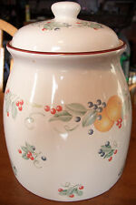 Jay Company Fruit Cookie Jar, Excellent!