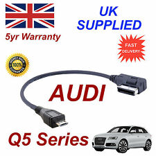 Genuine AUDI Q5 Series AMI MMI 4F0051510M MP3 PHONE MICRO USB Cable replacement