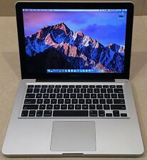 "CUSTOMIZED 13"" APPLE MACBOOK PRO LAPTOP CORE I7 2.7GHZ 500G SSD 16GB NEW BATTERY"