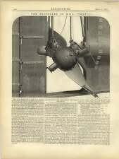 1877 The Propeller Of Hms Thetis